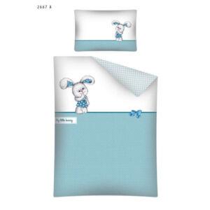 Ovis ágyneműhuzat - Kék nyuszi