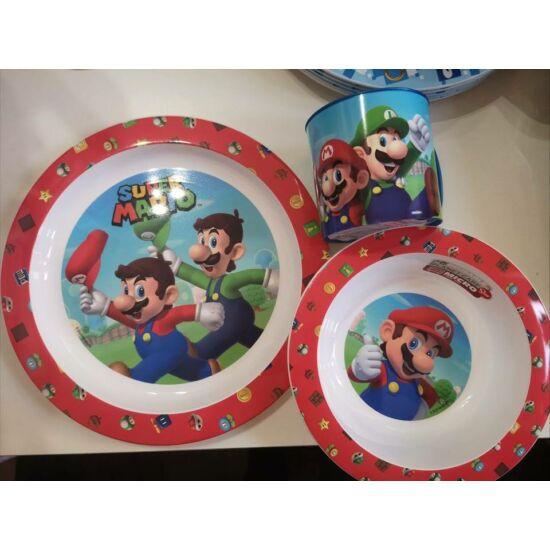 Super Mario 3 részes mikrózható étkészlet