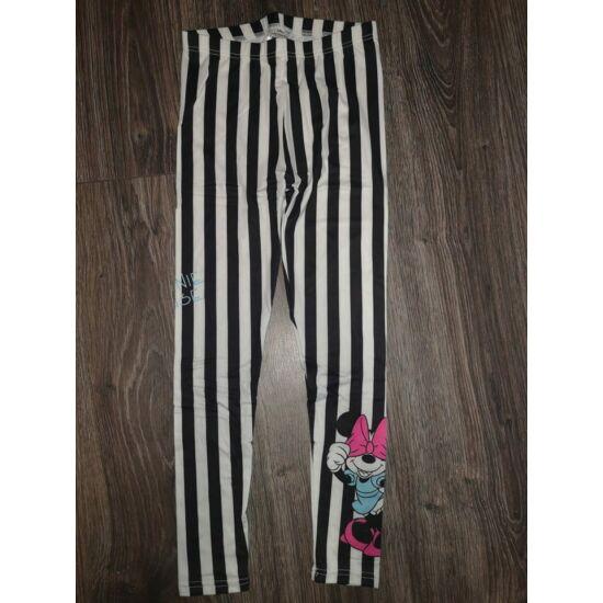 Minnie csíkos leggings