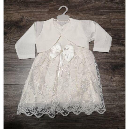 Keresztelő ruha + boleró