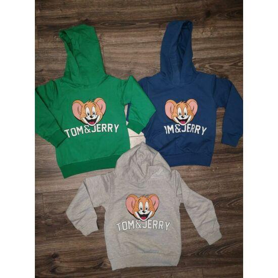 Tom és Jerry kapucnis pulóver