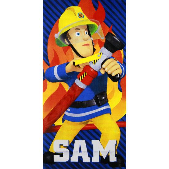 Sam a tűzoltó törölköző