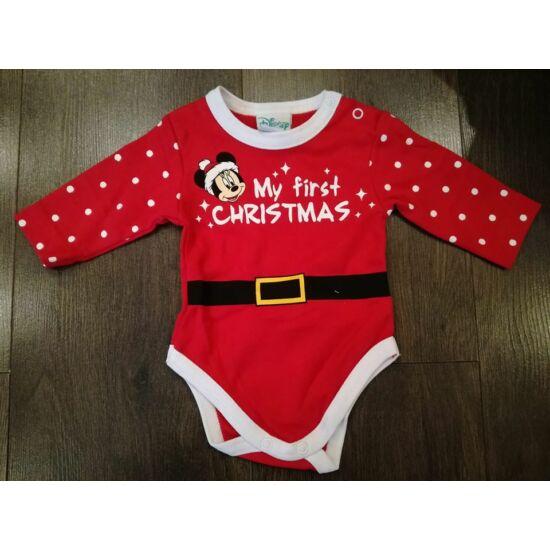 Az első karácsonyom body - Minnie