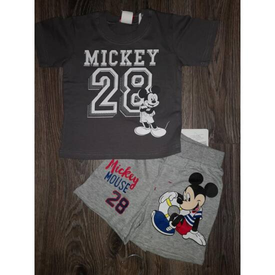 Mickey szett - szürke