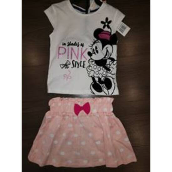 Minnie póló + szoknya