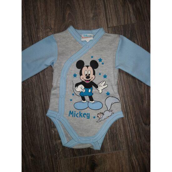 Mickey átlapolós body - 56os