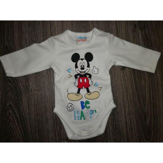 Mickey body - 56os, fehér