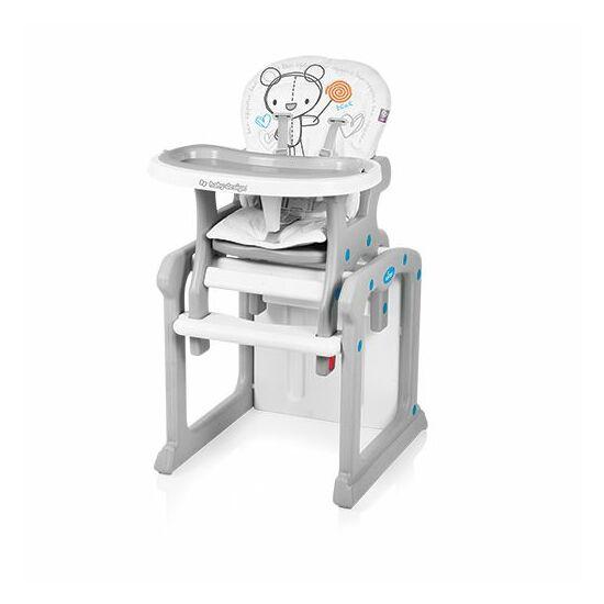 Baby Design Candy átalakítható etetőszék fehér