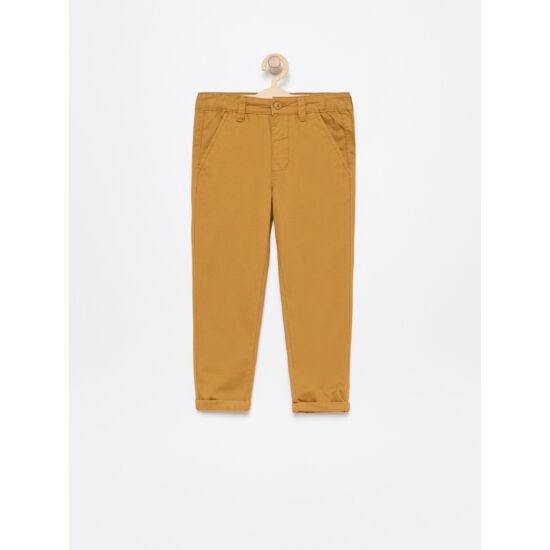 Mustár barna fiú nadrág
